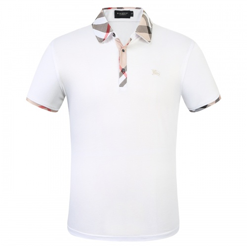 Burberry T-Shirts Short Sleeved Polo For Men #753618 $26.19 USD, Wholesale Replica Burberry T-Shirts
