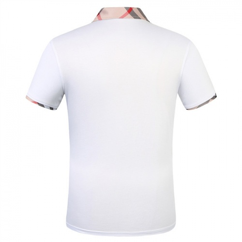 Replica Burberry T-Shirts Short Sleeved Polo For Men #753618 $26.19 USD for Wholesale