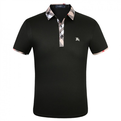 Burberry T-Shirts Short Sleeved Polo For Men #753622 $26.19 USD, Wholesale Replica Burberry T-Shirts