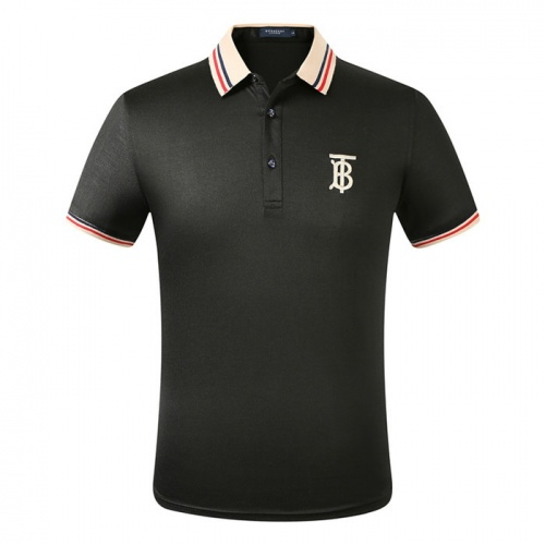 Burberry T-Shirts Short Sleeved Polo For Men #753624
