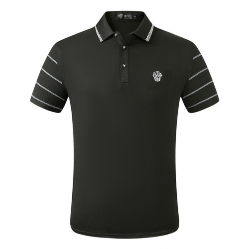 Versace T-Shirts Short Sleeved Polo For Men #753647