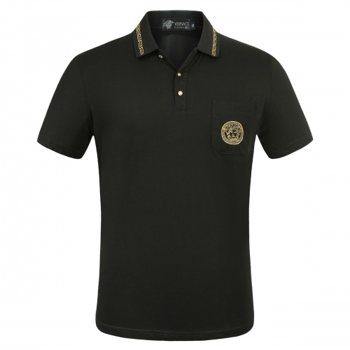 Versace T-Shirts Short Sleeved Polo For Men #753653