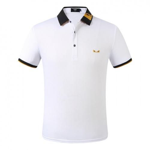 Fendi T-Shirts Short Sleeved Polo For Men #753663
