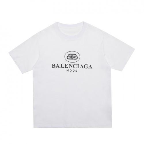 Balenciaga T-Shirts Short Sleeved O-Neck For Men #753937