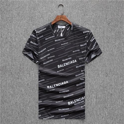 Balenciaga T-Shirts Short Sleeved O-Neck For Men #753992