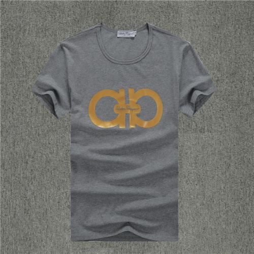 Ferragamo Salvatore FS T-Shirts Short Sleeved O-Neck For Men #754010