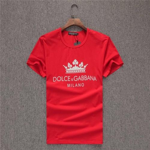 Dolce & Gabbana D&G T-Shirts Short Sleeved O-Neck For Men #754053