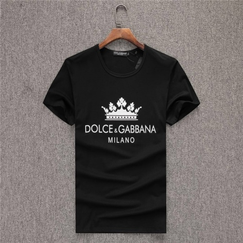 Dolce & Gabbana D&G T-Shirts Short Sleeved O-Neck For Men #754055