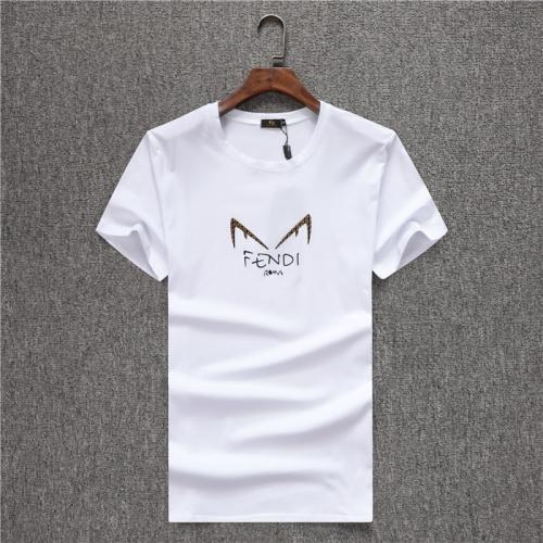 Fendi T-Shirts Short Sleeved O-Neck For Men #754092