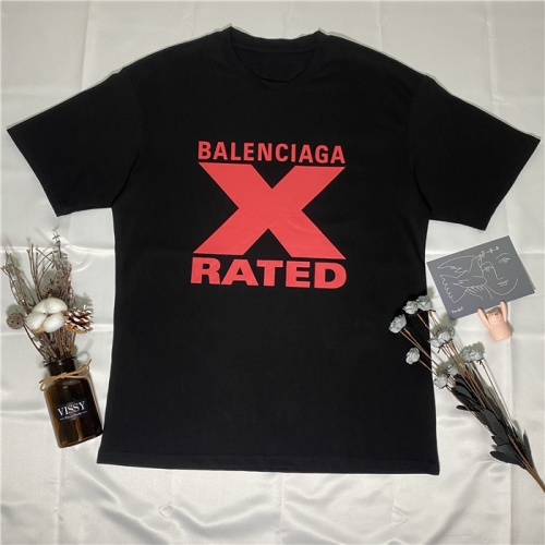 Balenciaga T-Shirts Short Sleeved O-Neck For Unisex #754182
