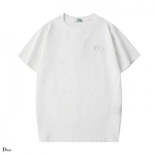 Dior T-Shirts Short Sleeved O-Neck For Unisex #754197