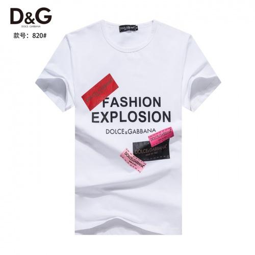 Dolce & Gabbana D&G T-Shirts Short Sleeved O-Neck For Men #754571