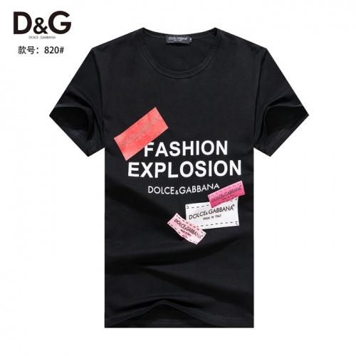 Dolce & Gabbana D&G T-Shirts Short Sleeved O-Neck For Men #754572