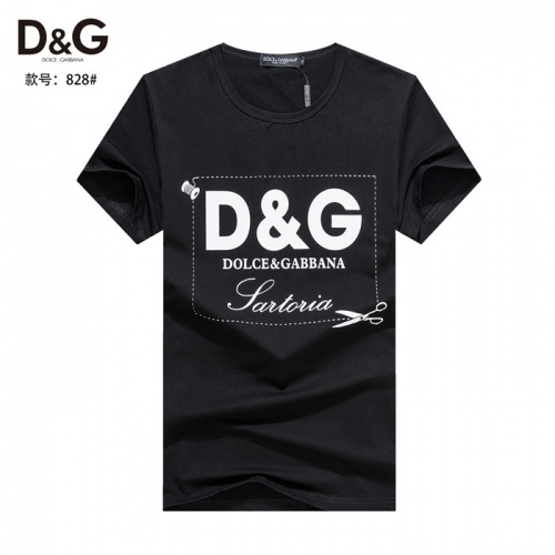 Dolce & Gabbana D&G T-Shirts Short Sleeved O-Neck For Men #754576
