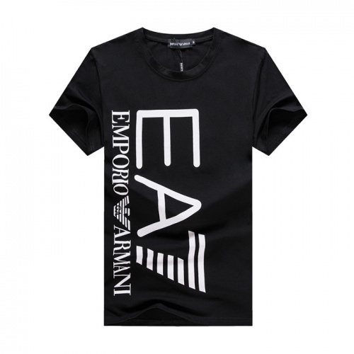 Armani T-Shirts Short Sleeved O-Neck For Men #754584