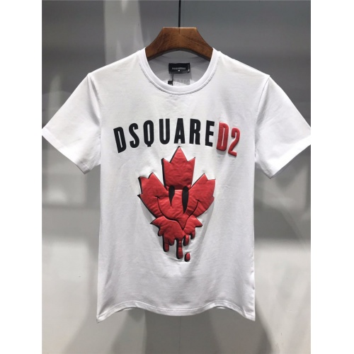 Dsquared T-Shirts Short Sleeved O-Neck For Men #754607 $23.28 USD, Wholesale Replica Dsquared T-Shirts