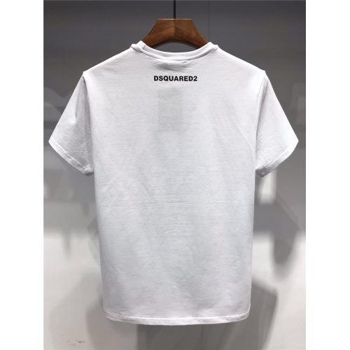 Replica Dsquared T-Shirts Short Sleeved O-Neck For Men #754607 $23.28 USD for Wholesale