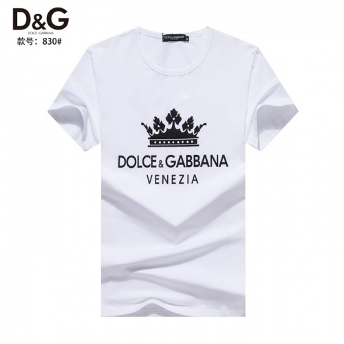 Dolce & Gabbana D&G T-Shirts Short Sleeved O-Neck For Men #754630