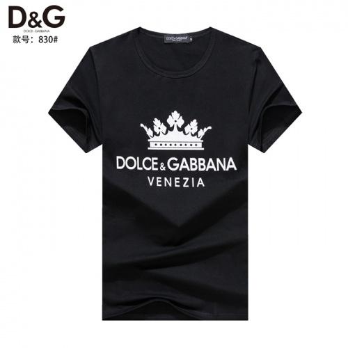 Dolce & Gabbana D&G T-Shirts Short Sleeved O-Neck For Men #754631