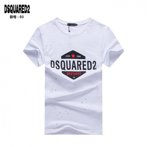 Dsquared T-Shirts Short Sleeved O-Neck For Men #754686