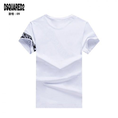 Replica Dsquared T-Shirts Short Sleeved O-Neck For Men #754692 $23.28 USD for Wholesale