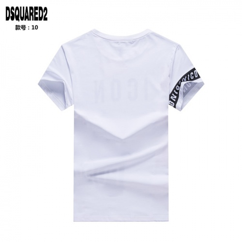 Replica Dsquared T-Shirts Short Sleeved O-Neck For Men #754694 $23.28 USD for Wholesale