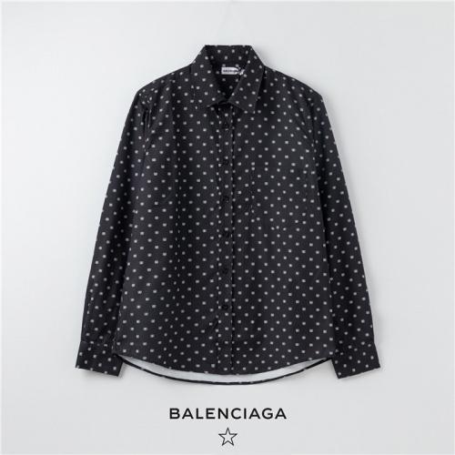 Balenciaga Shirts Long Sleeved Polo For Men #754720