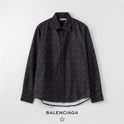 Balenciaga Shirts Long Sleeved Polo For Men #754723
