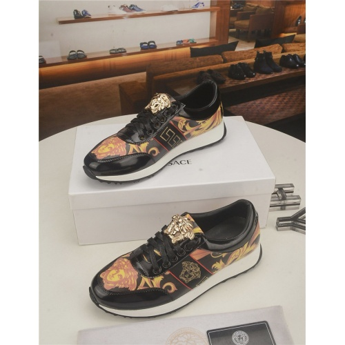 Replica Versace Casual Shoes For Men #754743 $71.78 USD for Wholesale