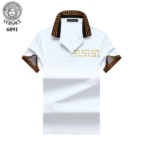 Versace T-Shirts Short Sleeved Polo For Men #754827