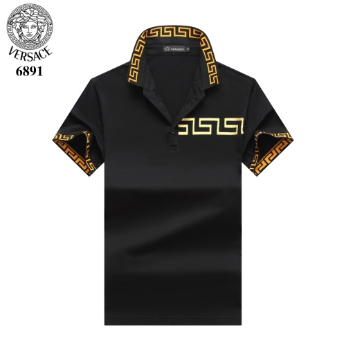 Versace T-Shirts Short Sleeved Polo For Men #754830