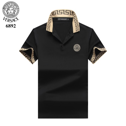 Versace T-Shirts Short Sleeved Polo For Men #754831