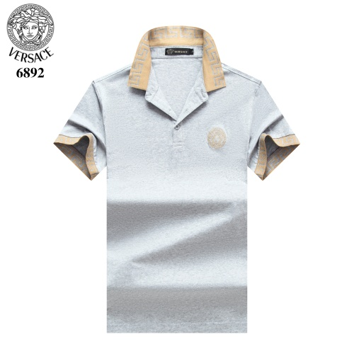 Versace T-Shirts Short Sleeved Polo For Men #754834