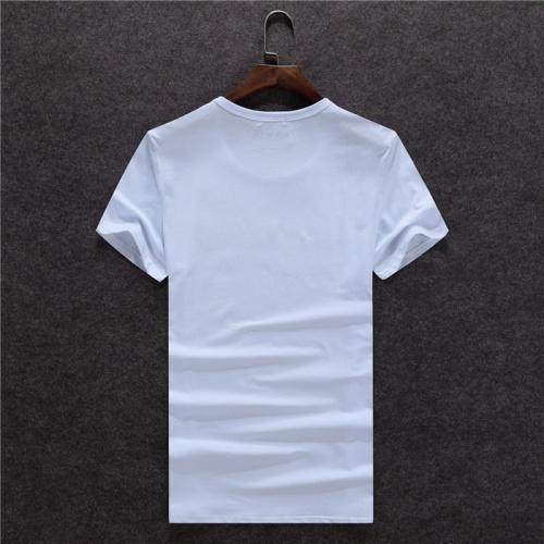 Replica Balmain T-Shirts Short Sleeved O-Neck For Men #754835 $23.28 USD for Wholesale