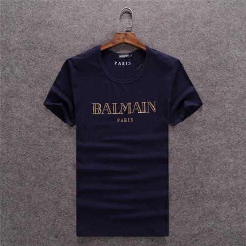 Balmain T-Shirts Short Sleeved O-Neck For Men #754837