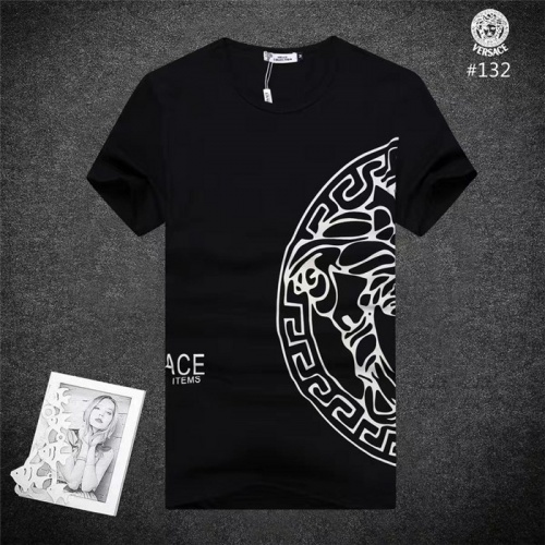 Versace T-Shirts Short Sleeved O-Neck For Men #754842