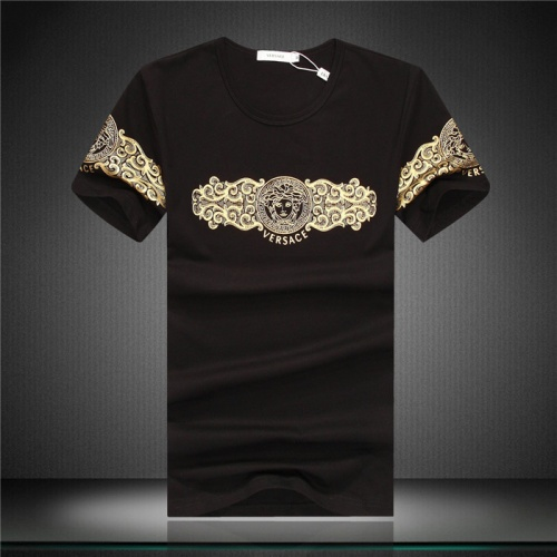 Versace T-Shirts Short Sleeved O-Neck For Men #754853