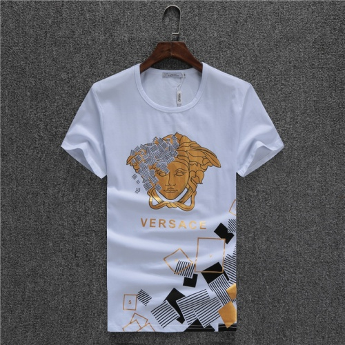 Versace T-Shirts Short Sleeved O-Neck For Men #754868