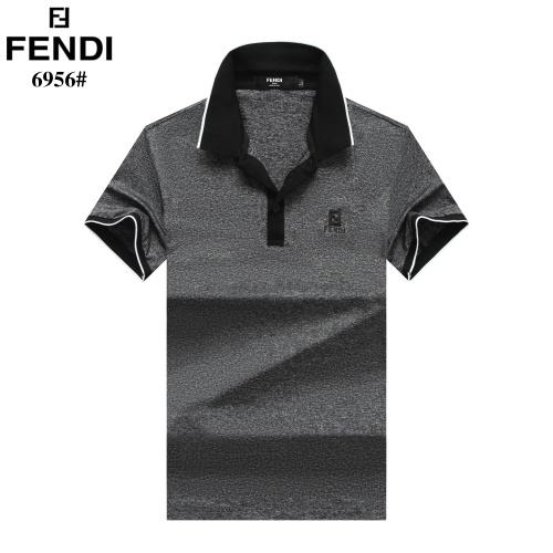 Fendi T-Shirts Short Sleeved Polo For Men #754895