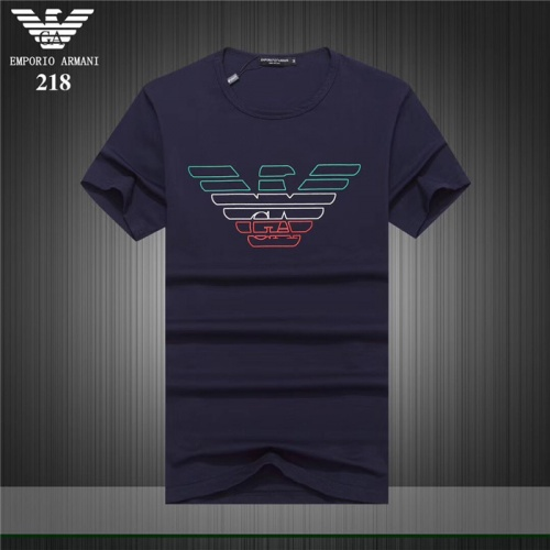 Armani T-Shirts Short Sleeved O-Neck For Men #754914
