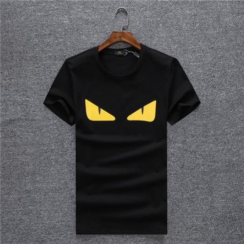 Fendi T-Shirts Short Sleeved O-Neck For Men #754976