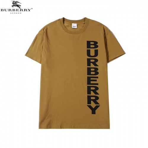 Burberry T-Shirts Short Sleeved O-Neck For Men #755098
