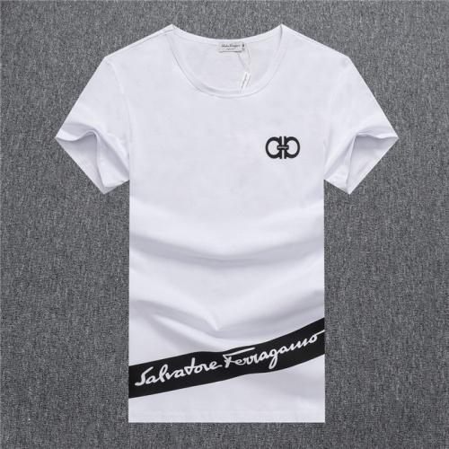 Ferragamo Salvatore FS T-Shirts Short Sleeved O-Neck For Men #755110