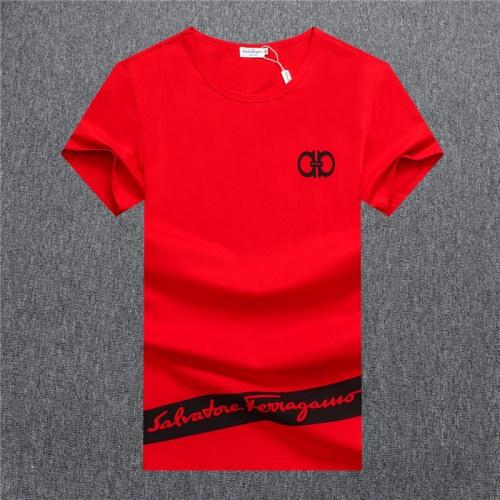 Ferragamo Salvatore FS T-Shirts Short Sleeved O-Neck For Men #755112
