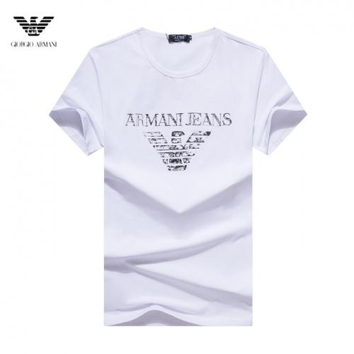 Armani T-Shirts Short Sleeved O-Neck For Men #755158