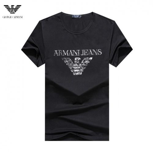 Armani T-Shirts Short Sleeved O-Neck For Men #755160