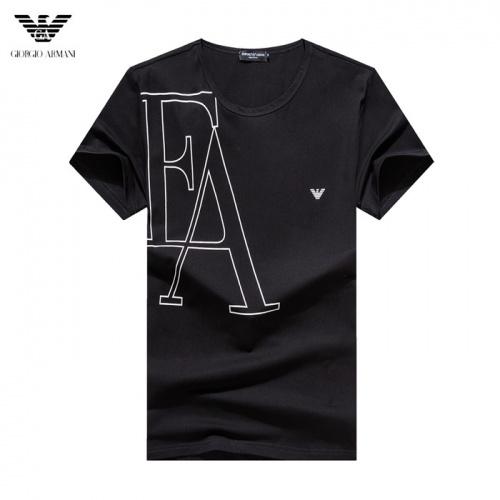 Armani T-Shirts Short Sleeved O-Neck For Men #755162