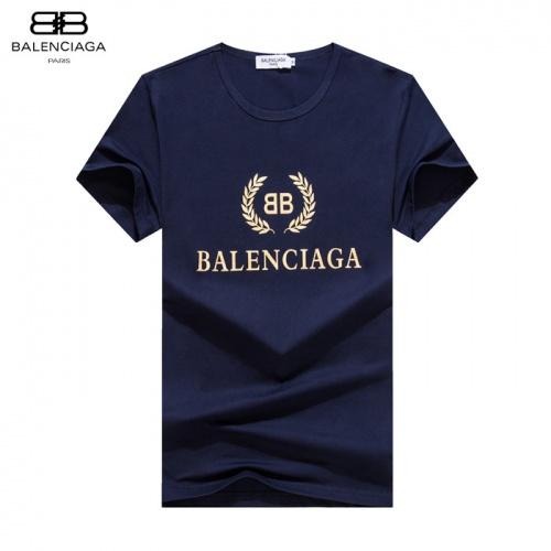 Balenciaga T-Shirts Short Sleeved O-Neck For Men #755175