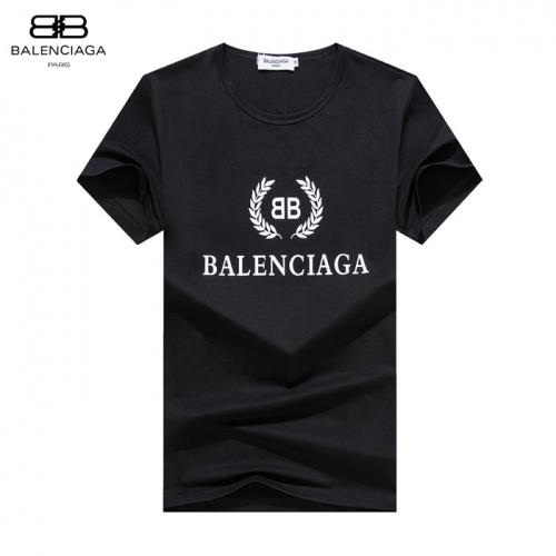 Balenciaga T-Shirts Short Sleeved O-Neck For Men #755176