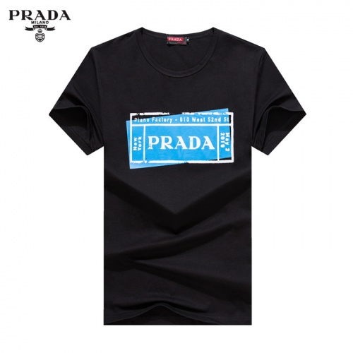 Prada T-Shirts Short Sleeved O-Neck For Men #755185